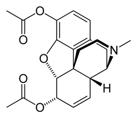 Diamorphine Chemical Properties