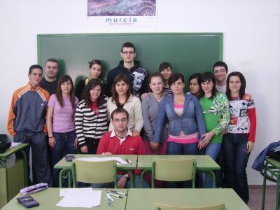 Alumnos de 2º Bachillerato